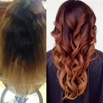 Seamless Color Melt Transformation | Hair coloring, Hair makeup and ...