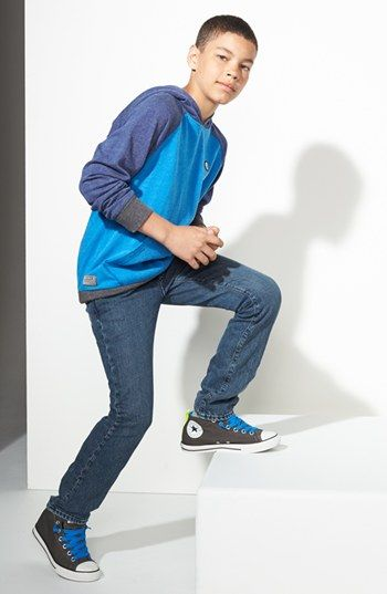 837798692 Volcom Hoodie & Jeans, Converse Chuck Taylor® Sneaker (Big Boys) available  at #Nordstrom