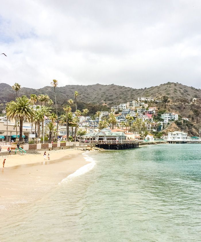Catalina Island Beach: The Beautiful Catalina Island Right Off Of Los Angeles