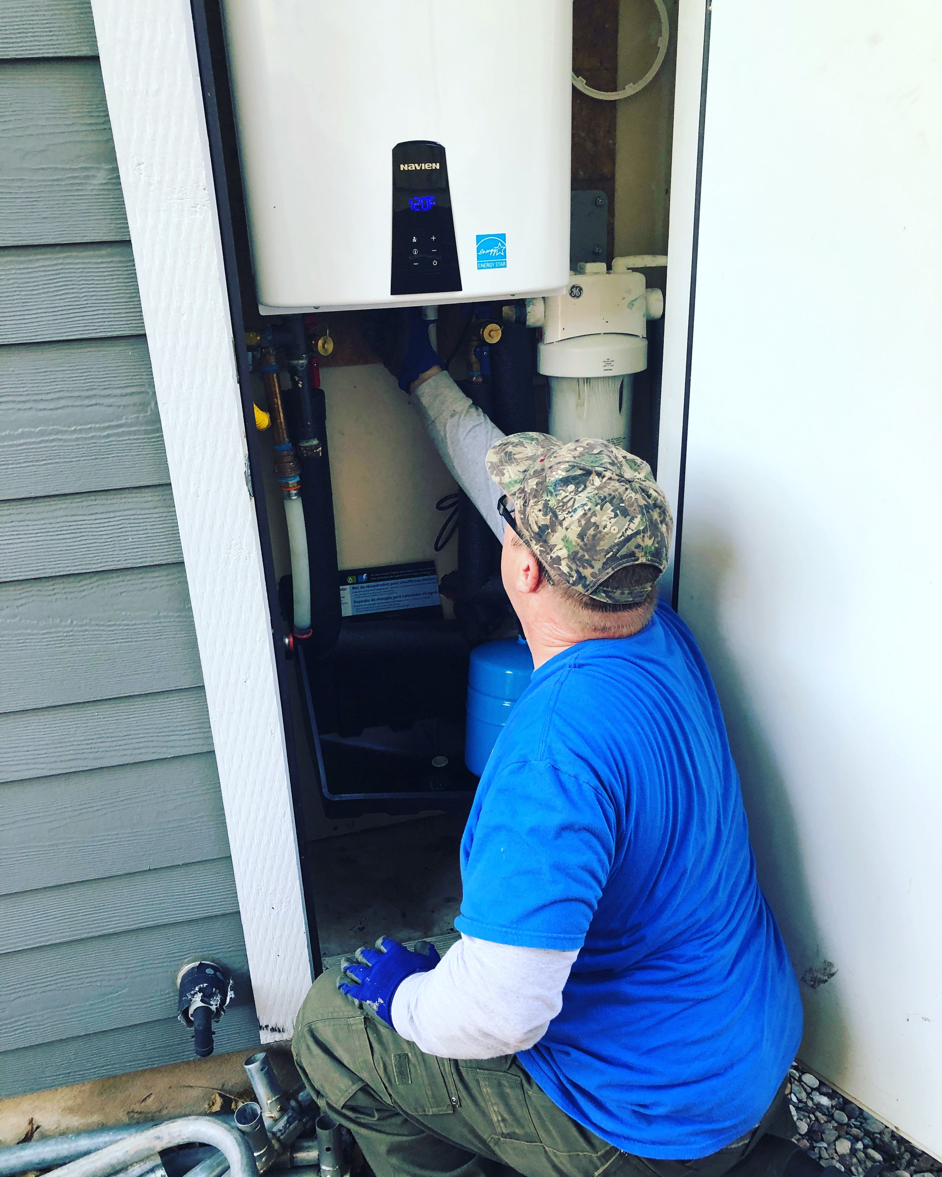 You need a tankless water heater luckily for you we are