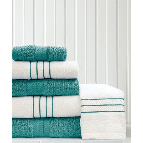 Take a look at this Teal Solid & Dobby Stripe Quick-Dry Six-Piece Towel Set  today!