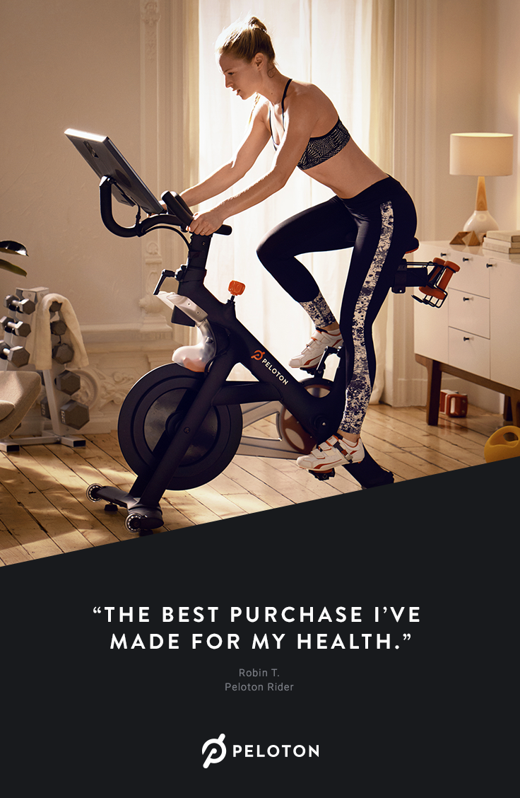 The Peloton Bike Is Your Own Private Cycling Studio Join Live And