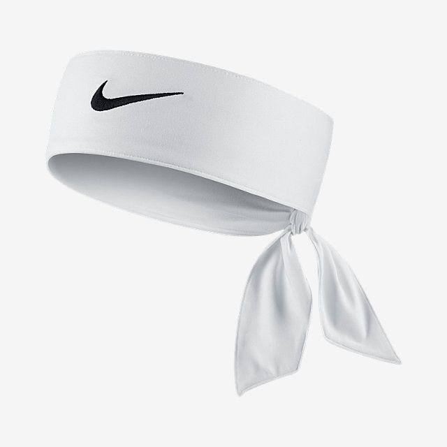 Nike Dri Fit 2 0 Head Tie Nike Com Nike Tie Headbands Head Ties White Headband