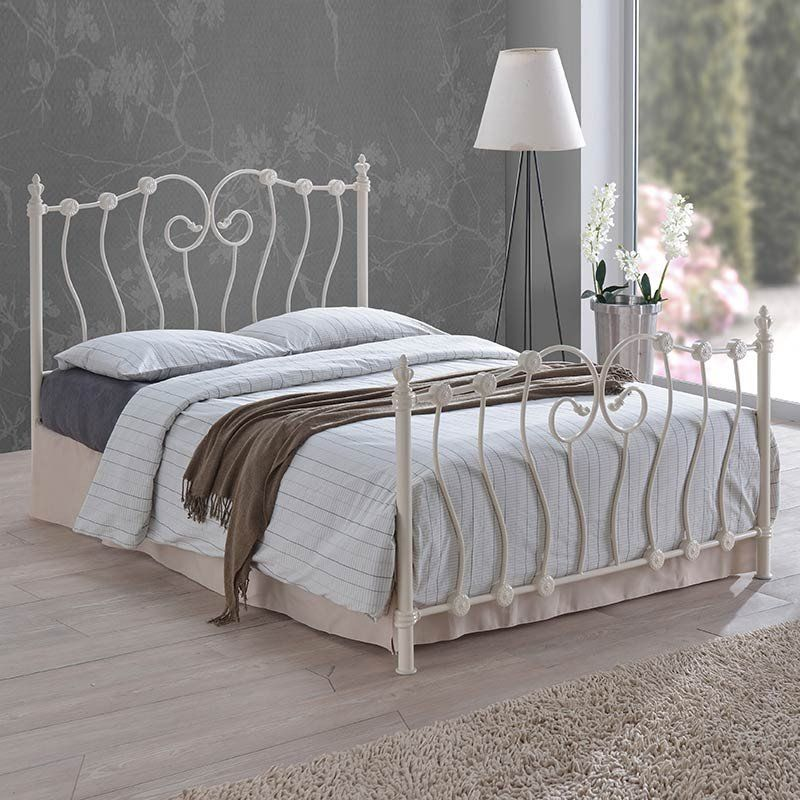 Inova Metal Frame Bed (Size Options) by Time Living - 4ft - Small ...