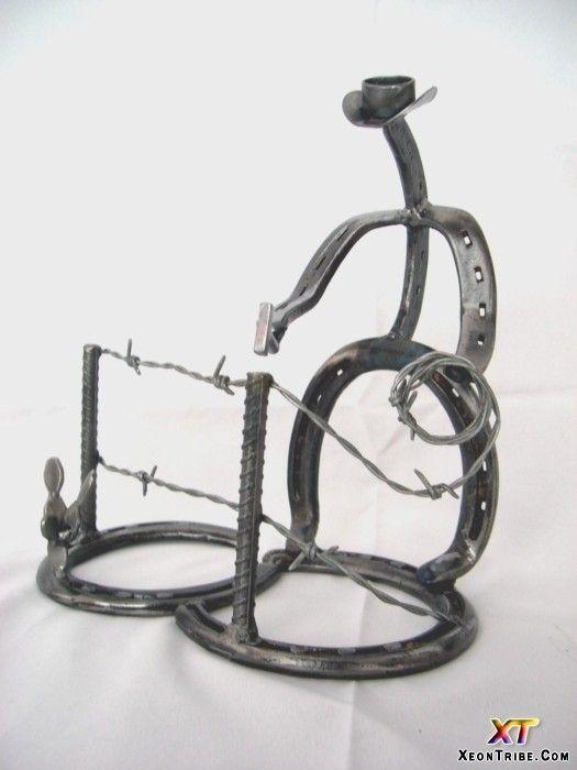 Horseshoe Art Ideas Sculptures Horseshoe Sculpture 20