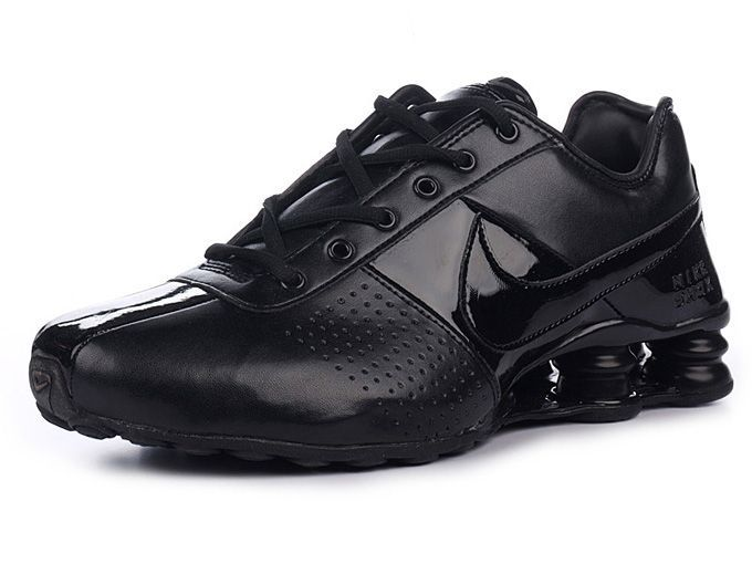 Mens Nike Shox Deliver Full Black-$76.66