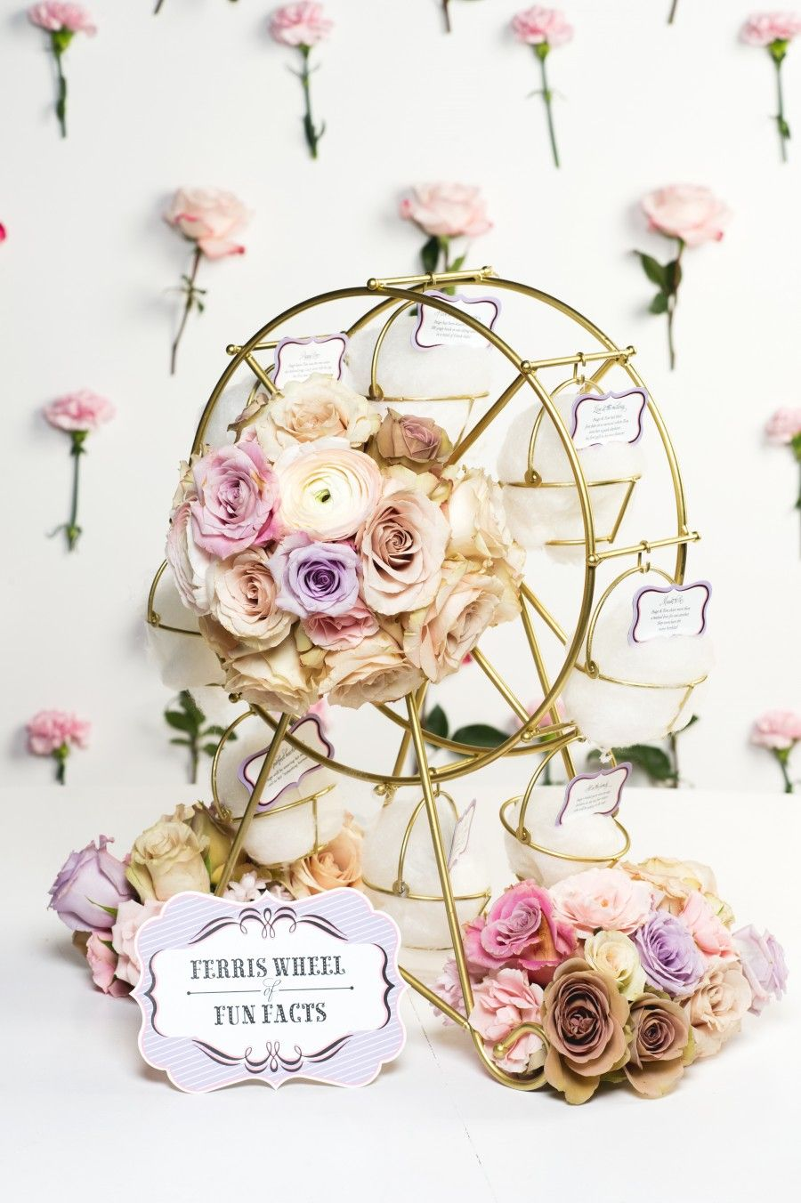 COSMO CARNIVAL BRIDAL SHOWER | Ferris wheel, Carnival and Bridal showers
