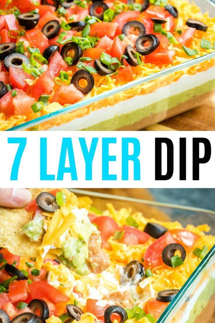7 Layer Dip #7layerdip