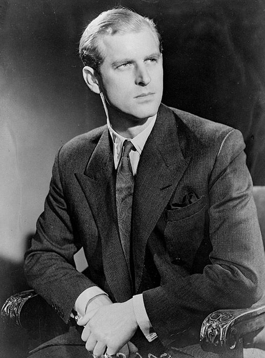 A young Philip pictured in 1947