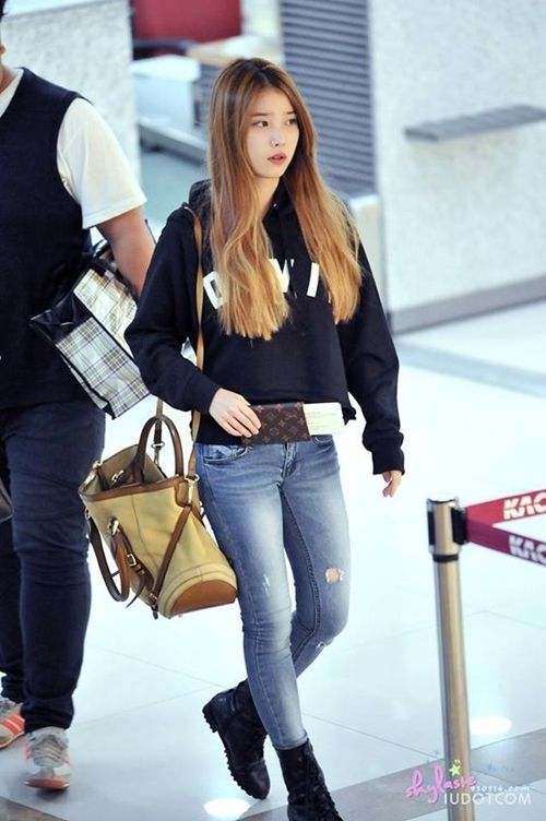 Iu Airport Fashion 2015 2016 Korean Airport Fashion Korean Fashion Fashion