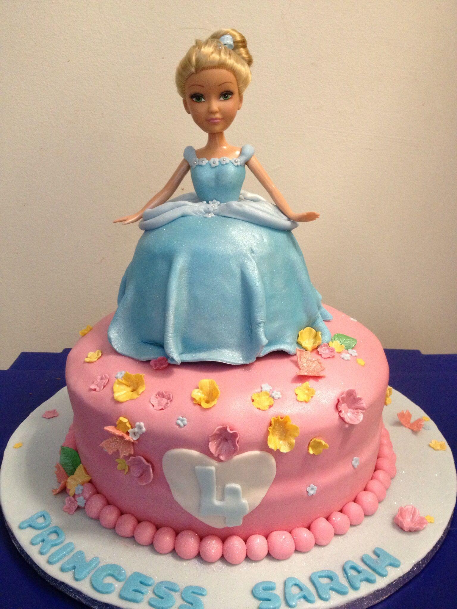 Princess Cinderella Cake Cakes