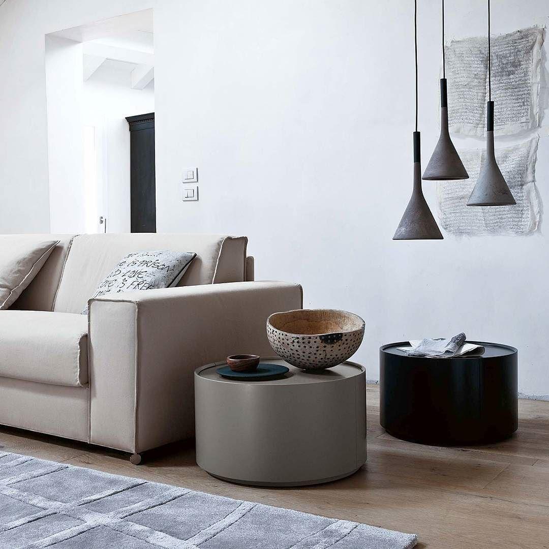 außergewöhnlicher beistelltisch allout von novamobili seine runde, Wohnzimmer dekoo