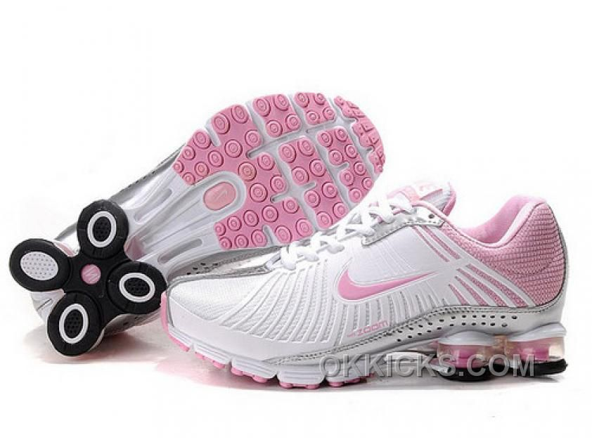 Nike Shox Pink And Silver