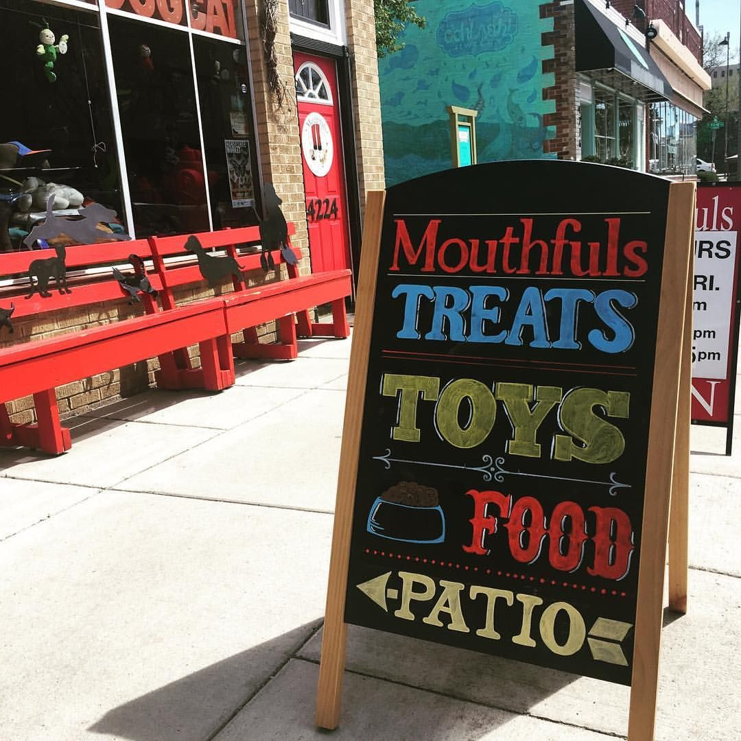 My First Sidewalk Sign For Mouthfuls Pet Supply Store Pet Store Design Sidewalk Sign Pet Supply Stores