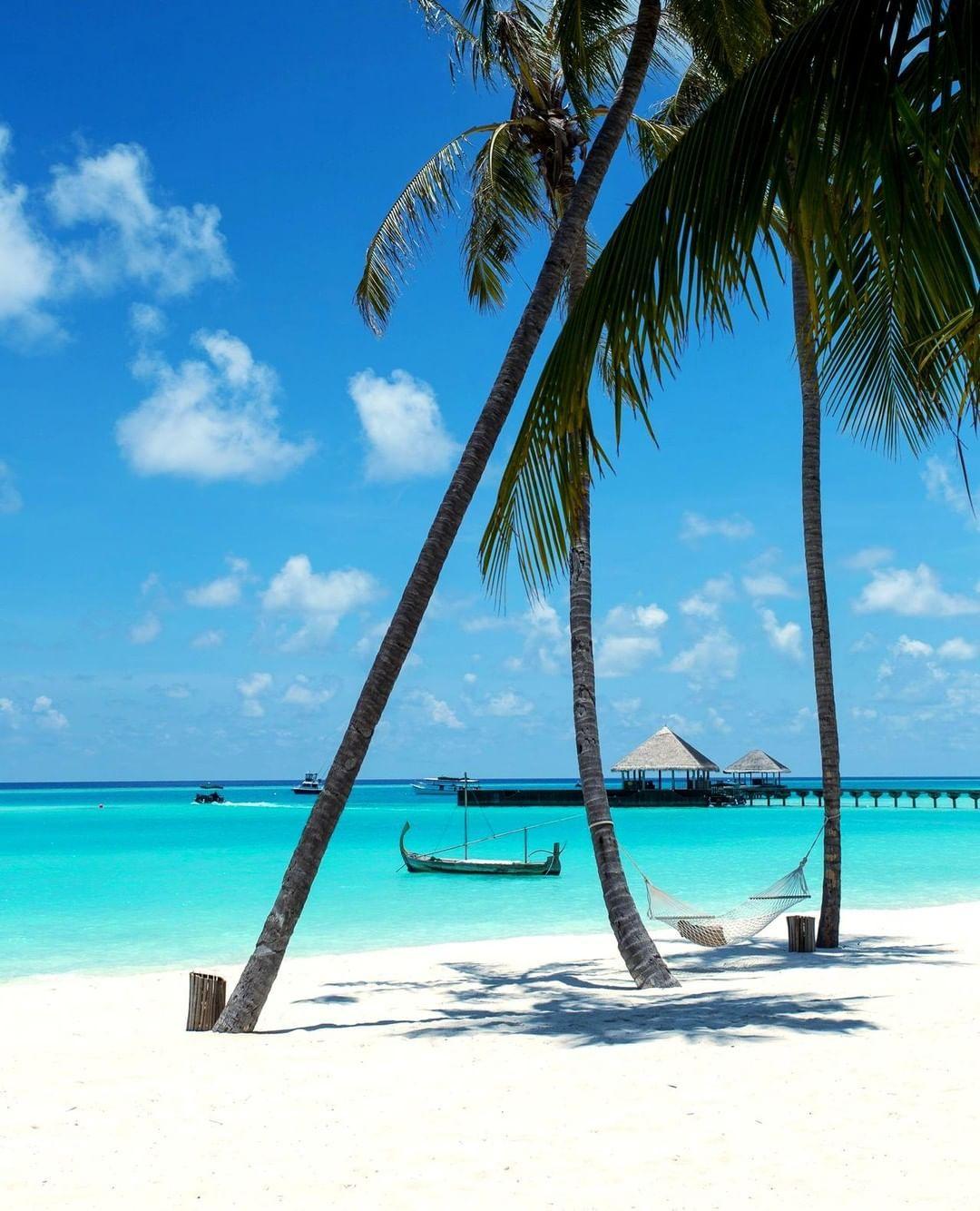 Sun Island Beach Maldives: Relaxing! ️ ------------ #maldives #beach #paradise