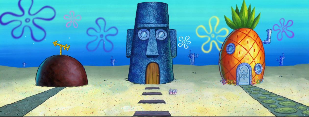 Latest 1261 480 Spongebob Painting Spongebob Background