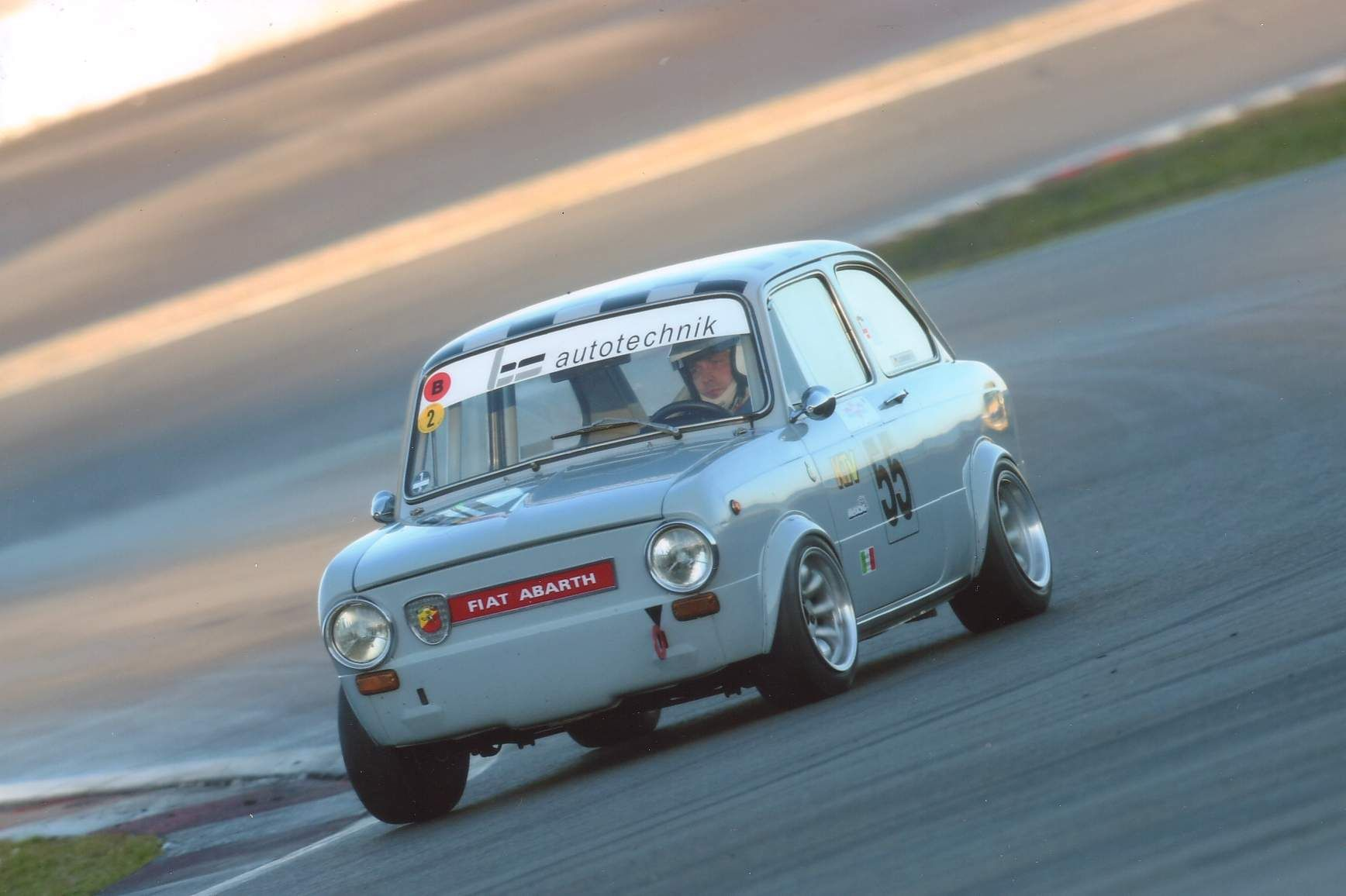 Fiat 850 With Flared Think A More Aggressive Sporting Look Is In