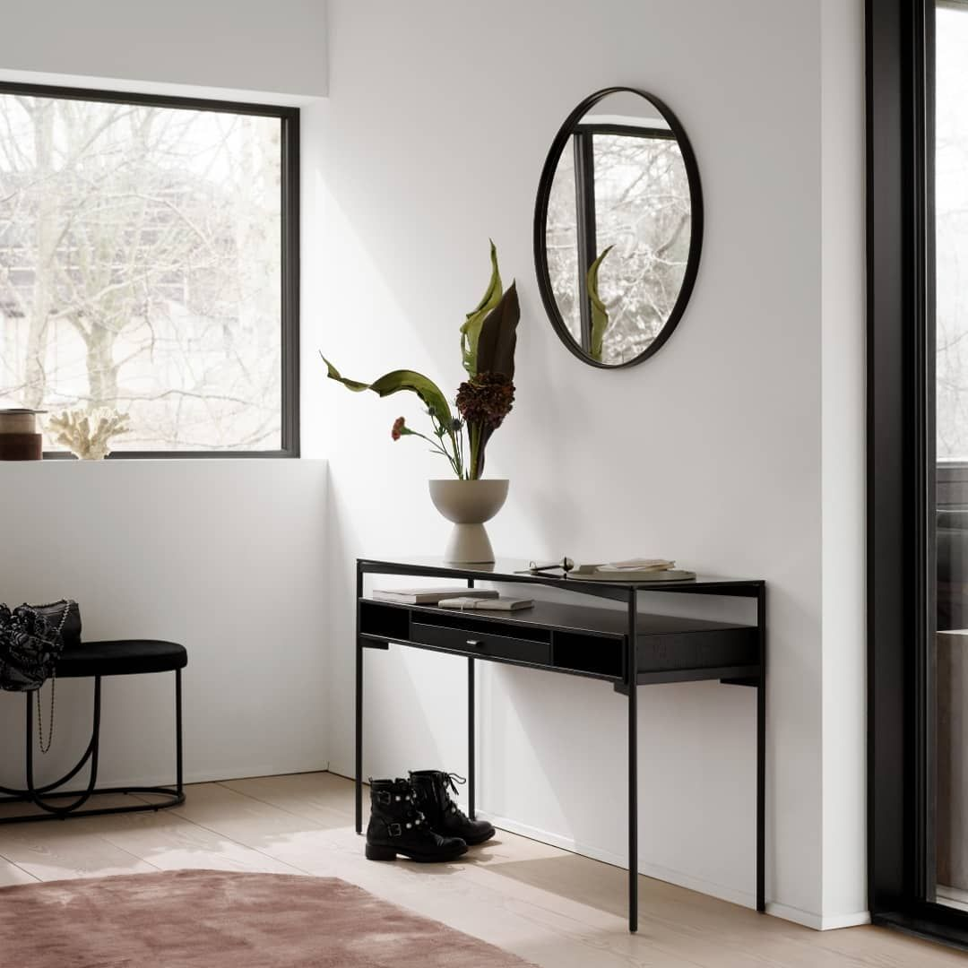 New Collection A Modern Entrance With The Los Angeles Storage Console Table Designed By Morten Georgsen Furniture Danish Furniture Furniture Trends