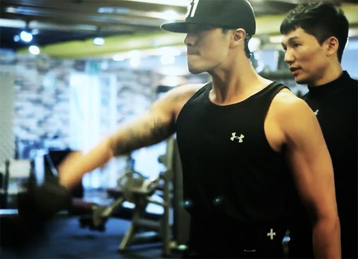 Watch So Ji Sub Hits The Gym Hard In Preparation For Oh My Venus So Ji Sub Oh My Venus Singer