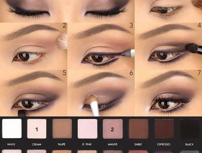 le maquillage pour yeux marron 51 id es en photos et vid os makeup makeup lorac makeup et. Black Bedroom Furniture Sets. Home Design Ideas
