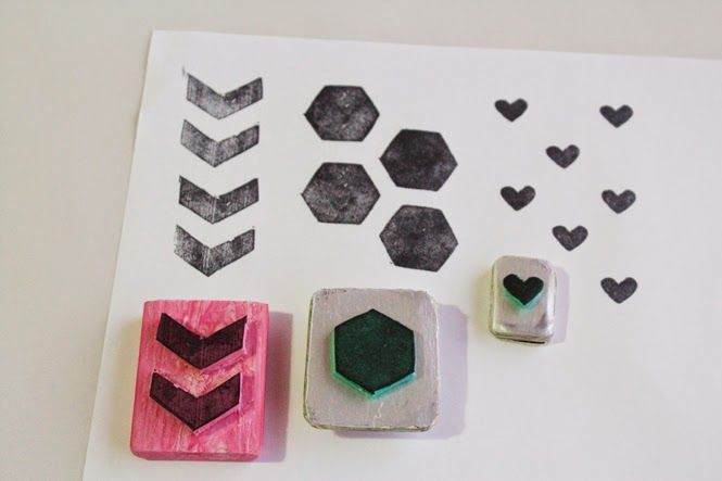 Curly Made: DIY Stamps with Hannah