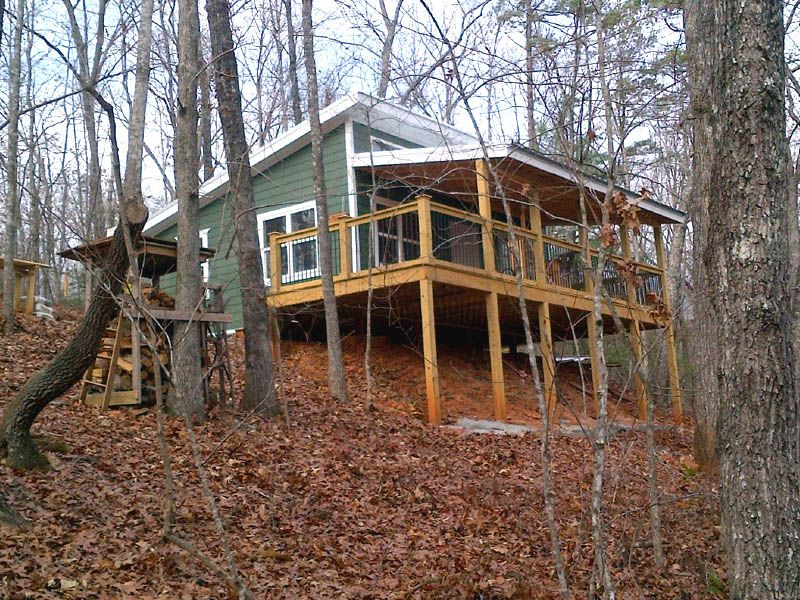 20 X 24 Shed Roof Cabin In Upstate South Carolina Shed Roof Design House Roof Shed Cabin