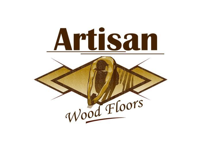 Love The Human Figure In This Logo Wood Floor Company Tradesman