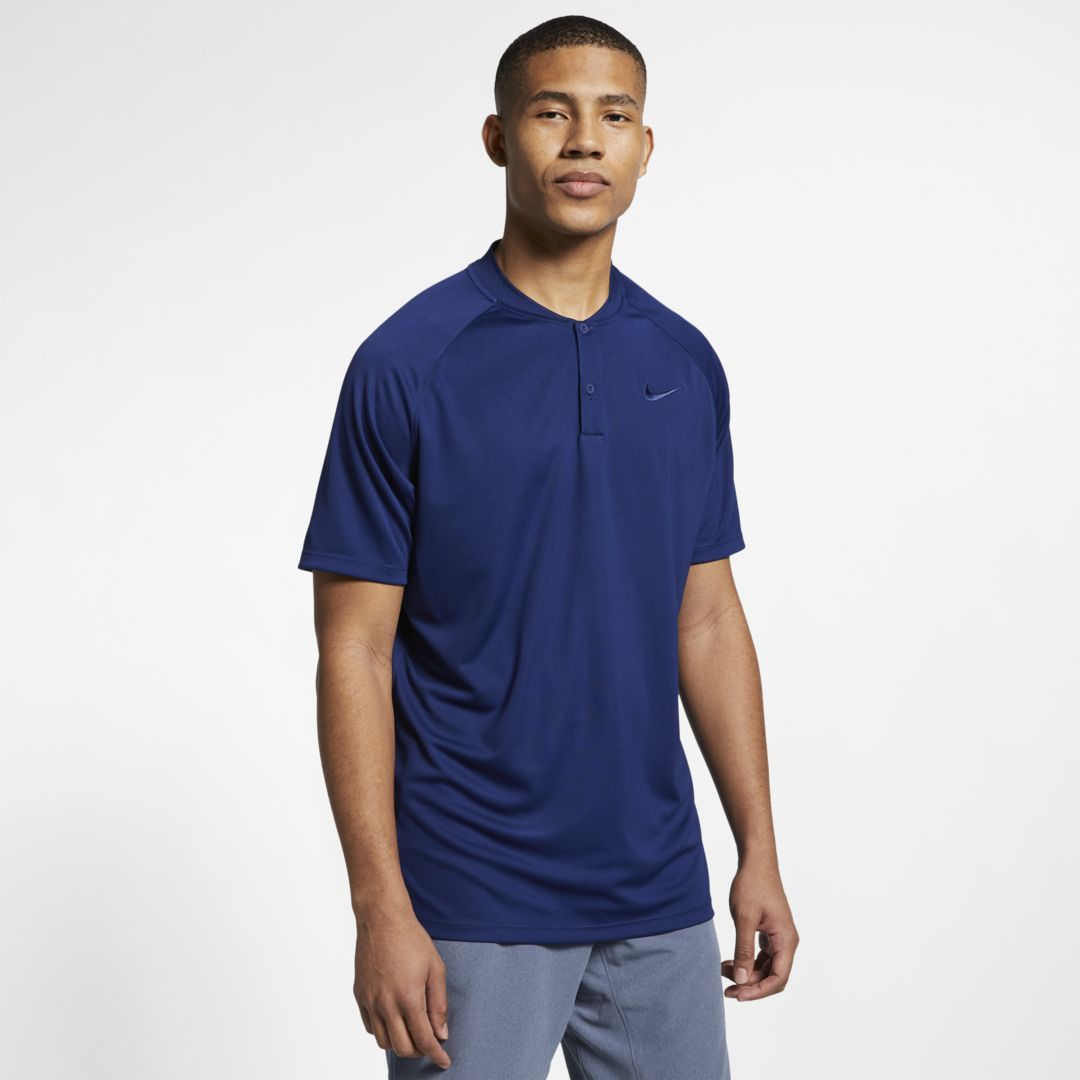 e44e1d8e7a Nike Dri-FIT Momentum Men's Standard Fit Golf Polo Size 2XL (Blue Void)