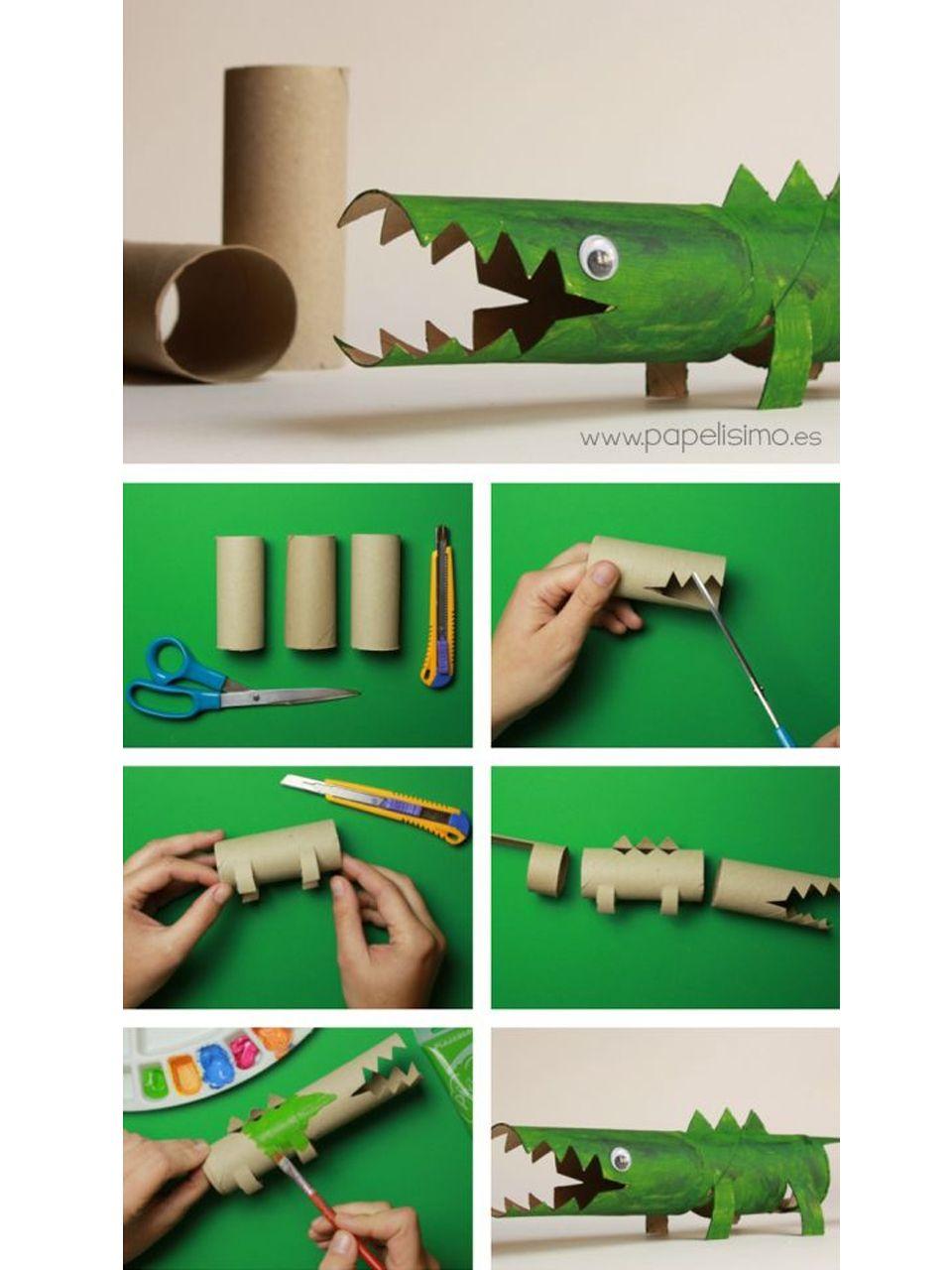 88 s per manualidades con rollos de papel higi nico diy - Manualidades con rollos de papel higienico para navidad ...