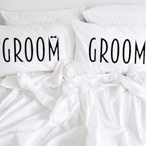 Hubbies-to-be will be dreaming extra sweet dreams with these fun groom-