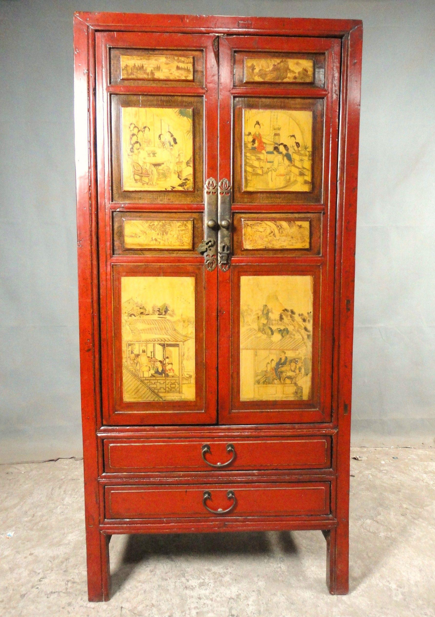 armoire ancienne meuble ancien orme