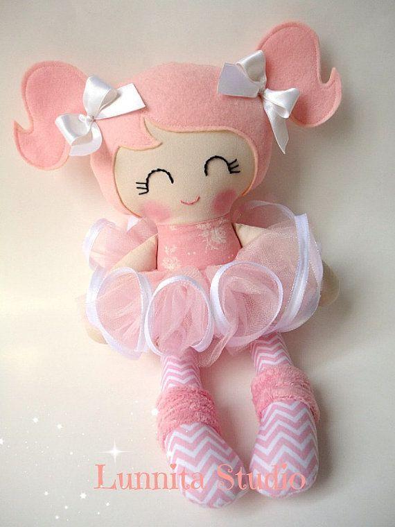 Ballerina doll, Handmade cloth doll,Girl gift,Ragdoll,Cloth doll,Fabric doll...Eco-Friendly Doll... sweet ragdoll......READY TO SHIP #dollcare