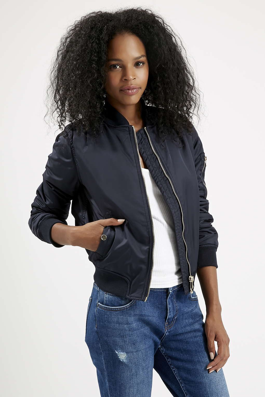 Photo 3 of PETITE MA1 Bomber Jacket Bomber jacket