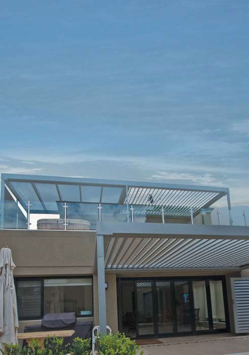 Amazing Opening Roofs by Louvretec