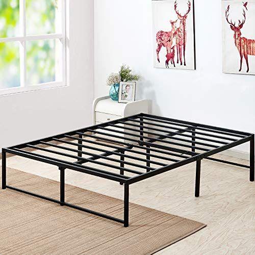Vecelo 14 Inch Platform Bed Frame Mattress Foundation No