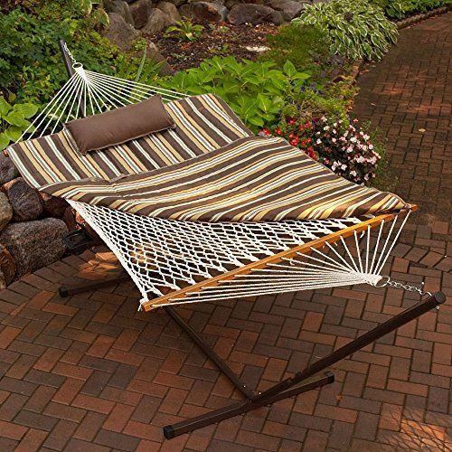 algoma 11 ft  cotton rope hammock metal stand set 2015 amazon top rated hammocks algoma 11 ft  cotton rope hammock metal stand set 2015 amazon top      rh   pinterest