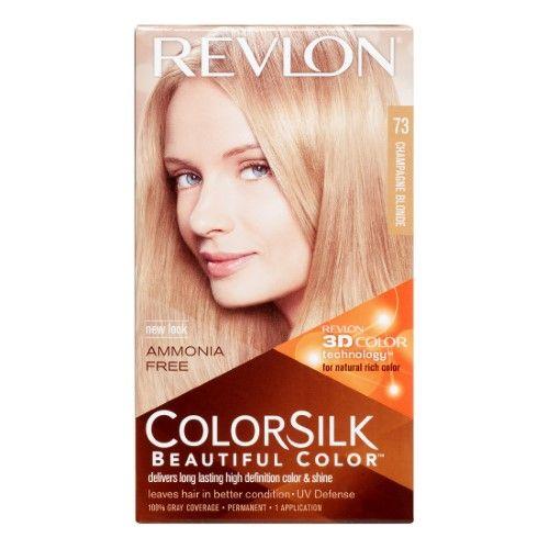 Revlon Colorsilk Hair Color Champagne Blonde With Images Dark