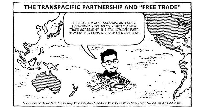 Free Trade Explained In An Excellent Comic Comic Pinterest