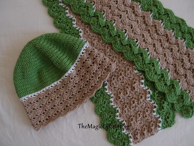 Ravelry: Easy Waves Hat pattern by TheMagicOfCrafting   Crochet ...
