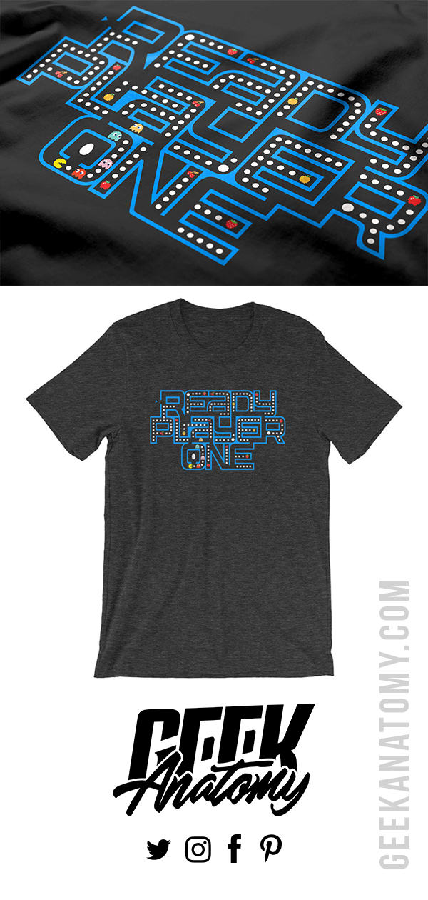 Did You Know The Actual Logo Of The Movie Ready Player One Is Actually A Maze We Just Recreate Ready Player One Shirt Ready Player One Ready Player One Movie