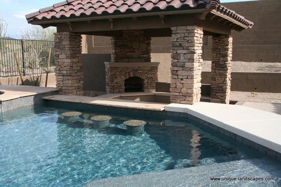 Pool Ideas Swim Up Bar Indoor Outdoor Pool Backyard Pool