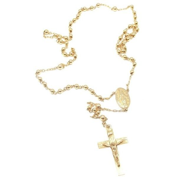 59c8122872fad Pre-owned Cartier 14K Yellow Gold Rosary Necklace (1 605 AUD ...