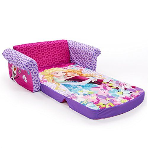 Marshmallow Furniture Disney Frozen Flip Open Sofa Introducing The Flip  Open Sofa Thatu0027s The Perfect Size For Young Kids! Flip Open The Sofa And