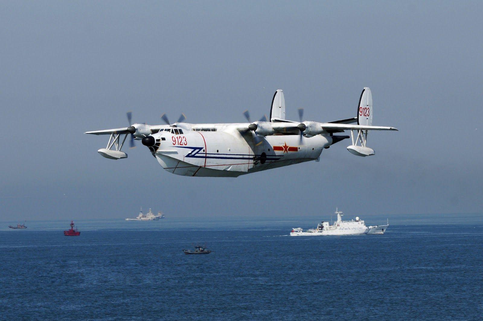 Chinese SH5 Maritime Patrol Aircraft / Amphibious
