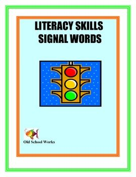 list of signal words