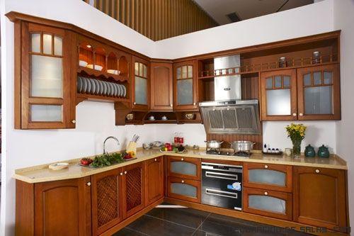 cocinas-rusticas-con-muebles-oscuros.jpg (500×333)  cocina  Pinterest  Sea...