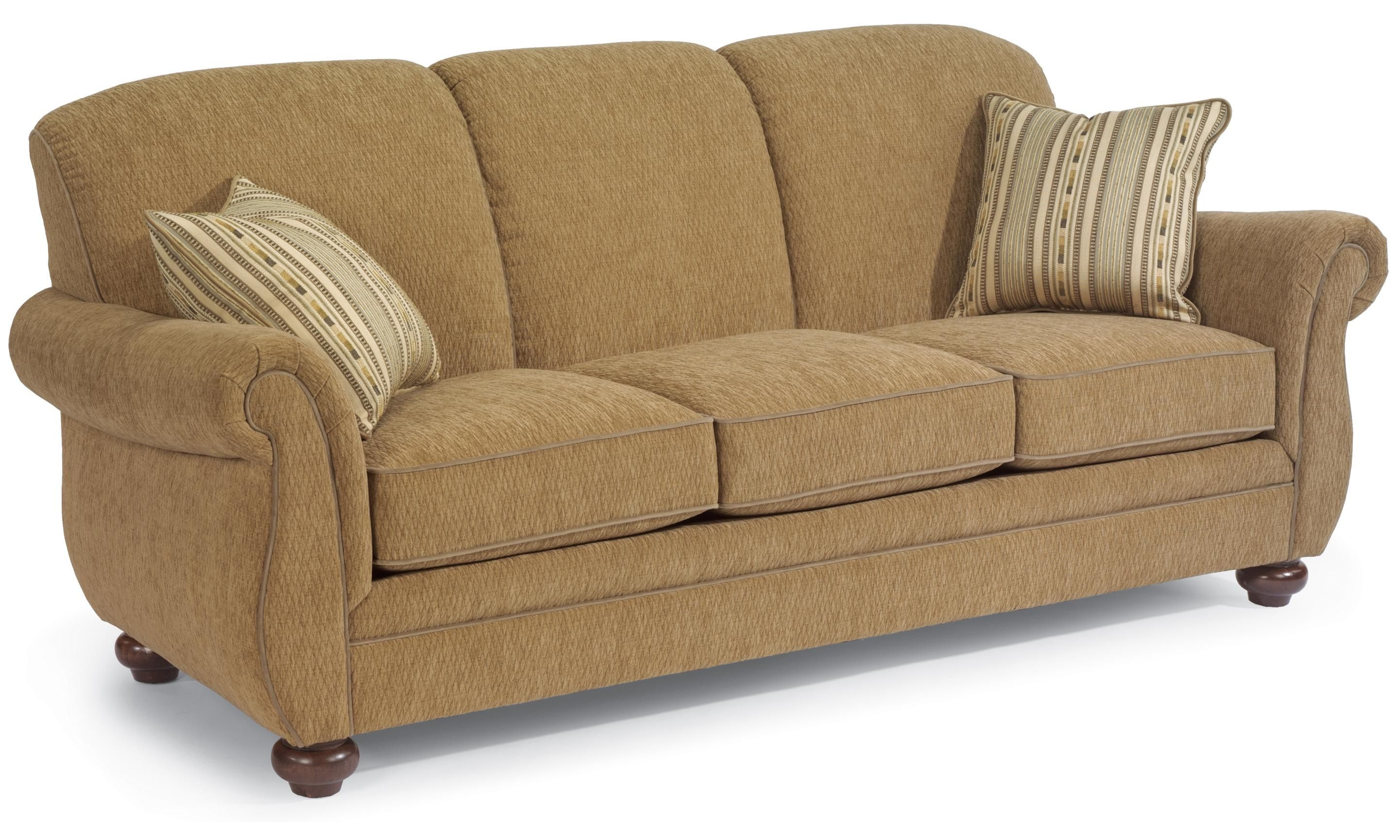 Winston Stationary Sofa by Flexsteel Pretty much our couch but in