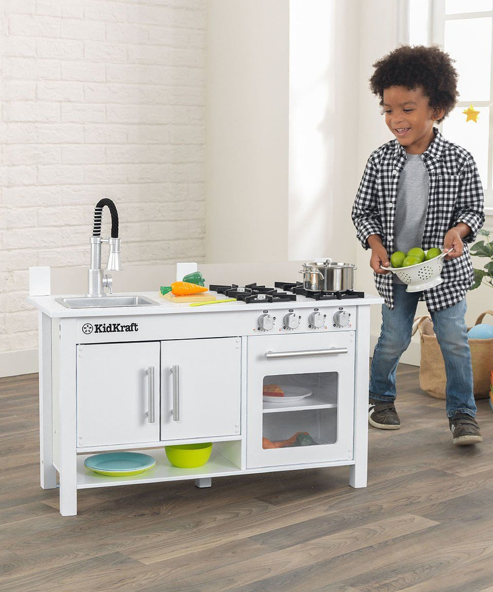 Take a look at this KidKraft | Little Cook\'s Work Station Kitchen ...