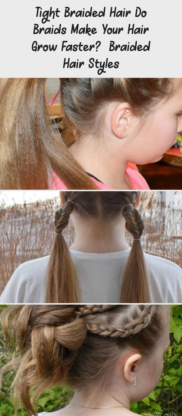 Tight Braided Hair Do Braids Make Your Hair Grow Faster Braided
