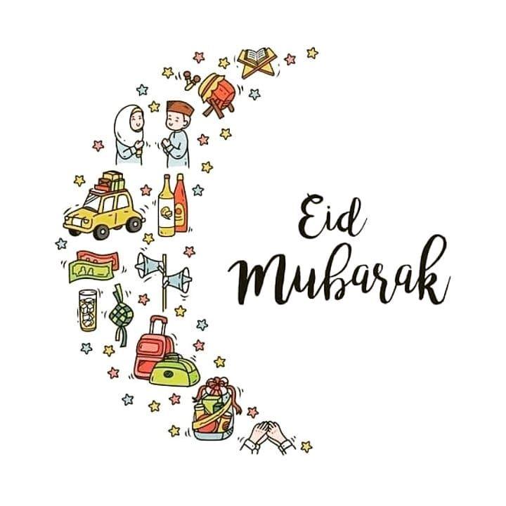Eid Greetings, Eid Mubarak Card, Eid Mubarak